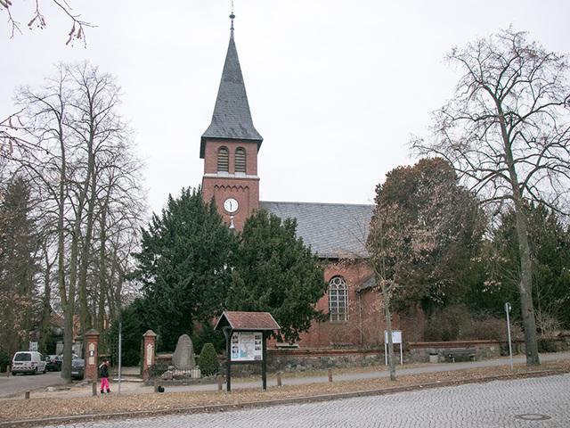 Kirche Marquardt, Foto: Ramona Kleber