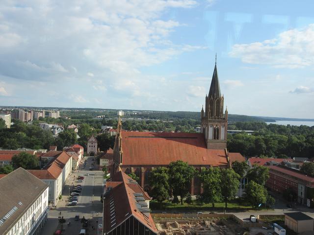 Blick auf Neubrandenburg, Foto: terra press Berlin