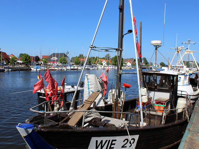 Fischerdorf Wiek bei Greifswald © Greifswald Marketing GmbH