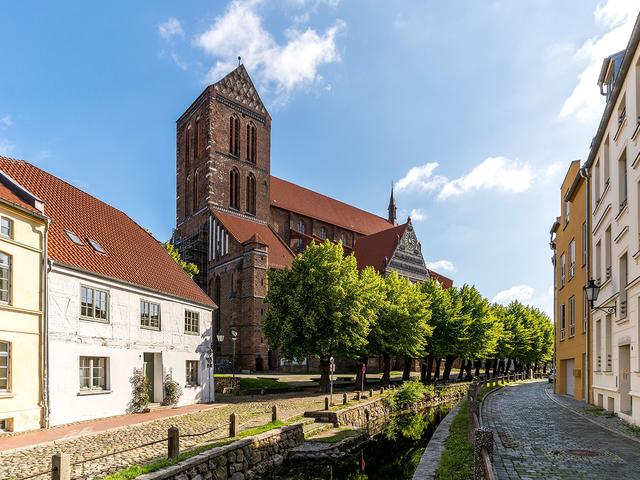 St.-Nikolai-Kirche an der Frischen Grube © Wismar/A. Rudolph