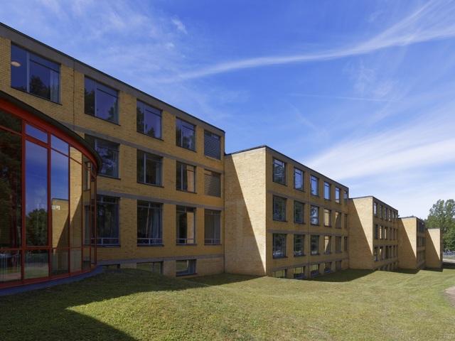 Bauhaus-Denkmal Bundesschule Bernau Internatsgebäude, Foto: EBERLE & EISFELD im Auftrag der Handwerkskammer Berlin