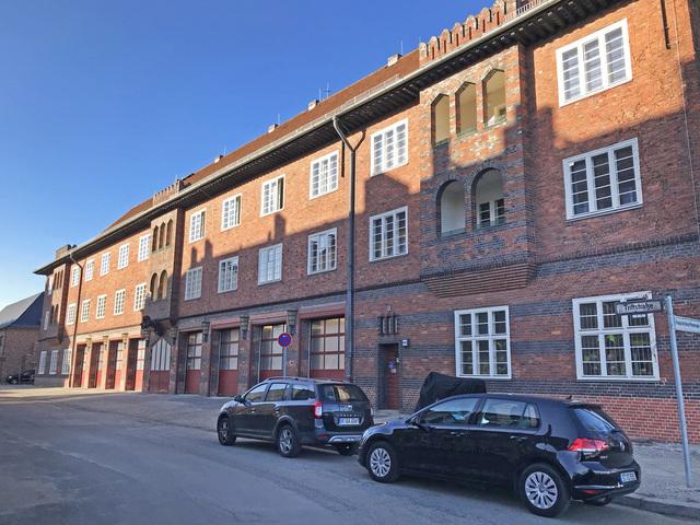 Feuerwehrgebäude in der Triftstraße, Foto: Rita Frank, Lizenz: terra press GmbH