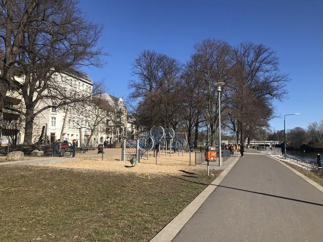 Spielplatz am Lindenufer, Foto: Rita Frank, Lizenz: terra press GmbH