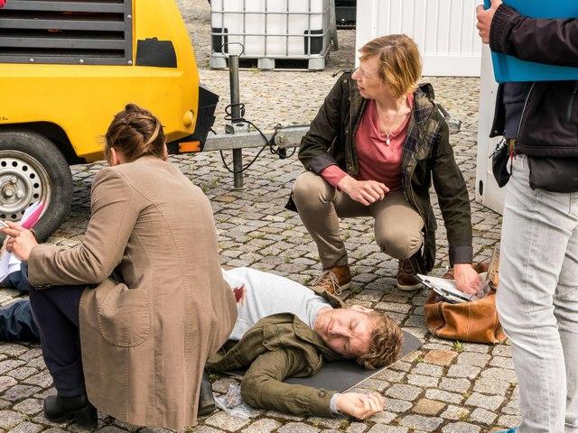 SOKO Wismar Tatort, Foto: Alexander Rudolph (TZ Wismar)