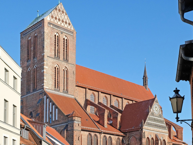 Frische Grube und Nikolaikirche, Foto: Martin Flögel