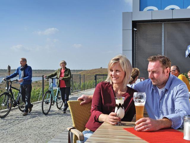 IBA-Terrassen - Bistro, Foto: TV LSL/Nada Quenzel, Foto: Nada Quenzel/TV Lausitzer Seenland, Lizenz: TV Lausitzer Seenland