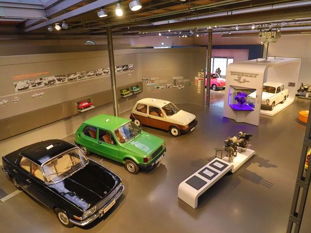 Trabant-Prototypen im August-Horch-Museum, Foto: Annett Lang