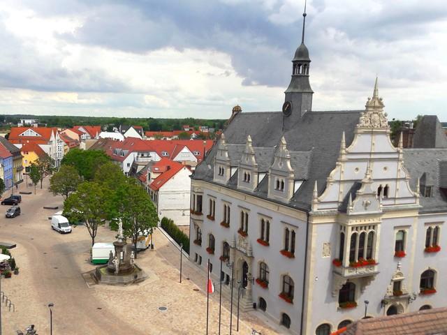 Marktplatz Bad Salzelmen , Foto: Stadt Schönebeck (Elbe)