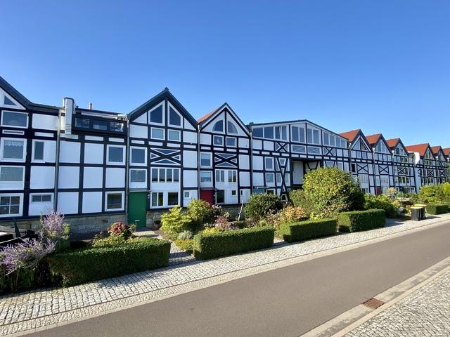Salinehäuser (Slazspeicherhäuser Schönebeck), Foto: Stadt Schönebeck (Elbe)