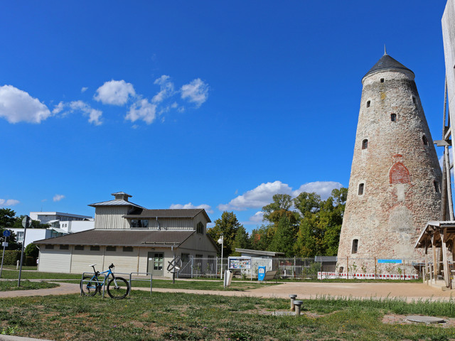 Kurpark Kunsthof Soleturm (Bad Salzelmen), Foto: Stadt Schönebeck (Elbe)