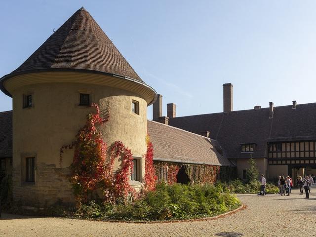 Schloss Cecilienhof, Foto: André Stiebitz, Lizenz: PMSG/SPSG