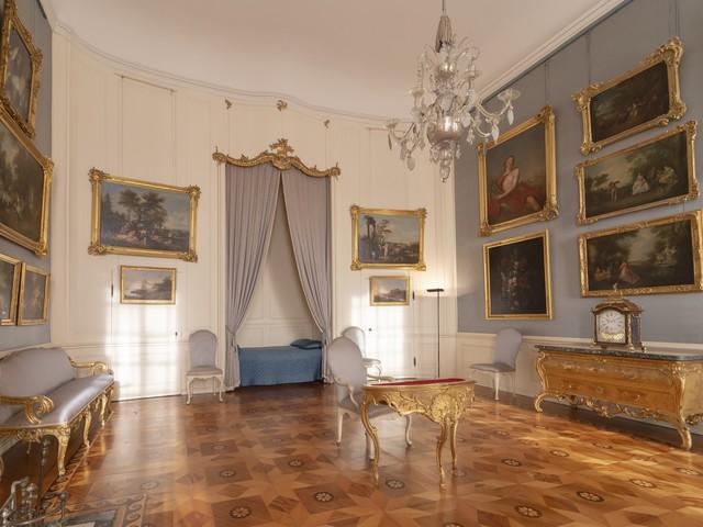 Innenansicht Schloss Sanssouci, Foto: André Stiebitz, Lizenz: PMSG/ SPSG