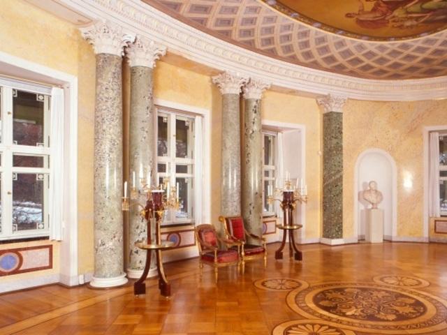Ovaler Saal im Marmorpalais, Foto: Wolfgang Pfauder, Lizenz: SPSG
